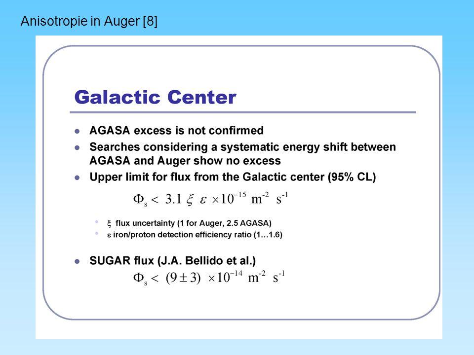 Anisotropie in Auger [8]